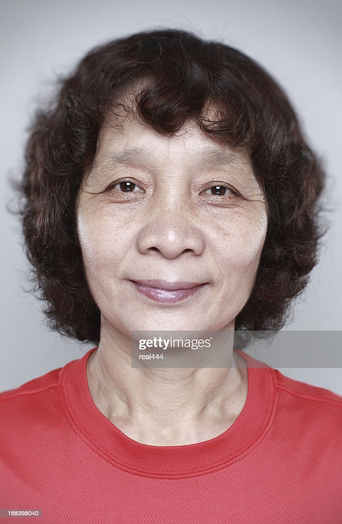 Senior Asian Woman : Stock Photo