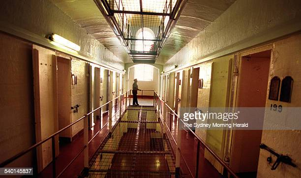 Senior Assistant Superintendent Keith Randy in 5 Wing of Parramatta prison which will be opened up to future criminals Sydney 22 November 1998 SMH...