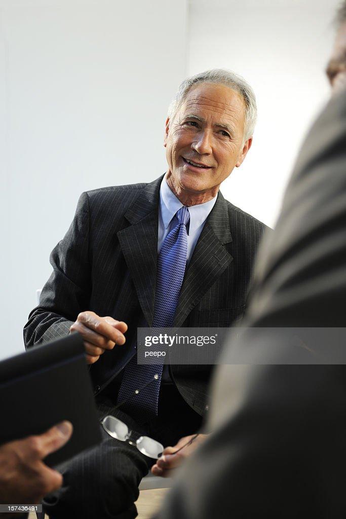 senior business men