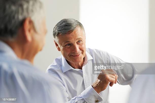senior business Mann