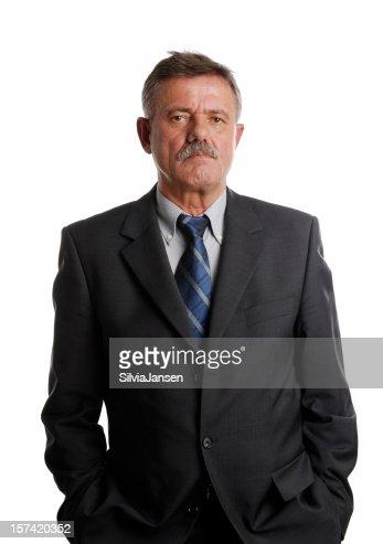 Leitender Geschäftsmann