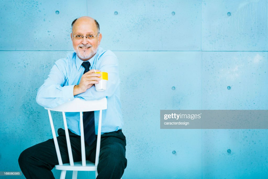 Senior businessman : Stock Photo