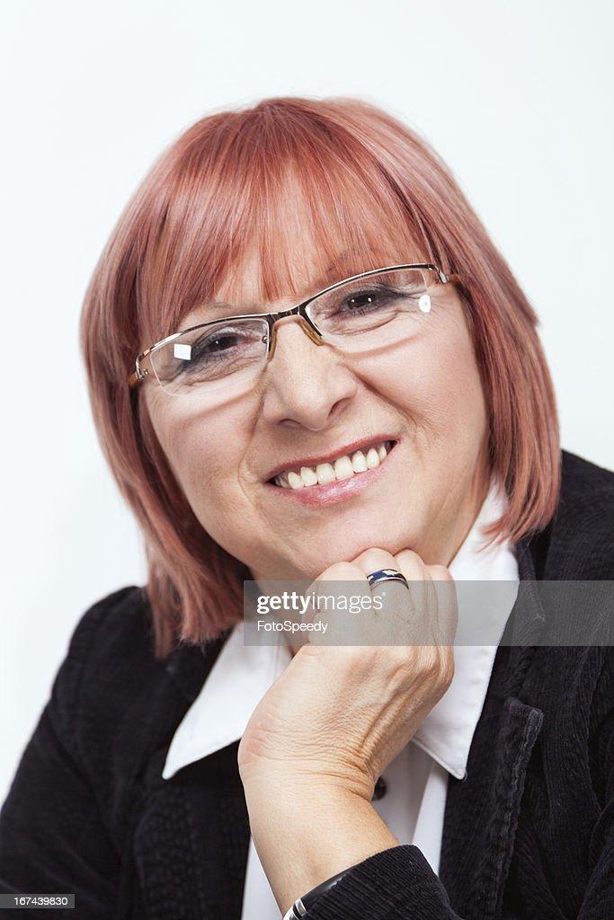 Senior businesswoman : Stock Photo