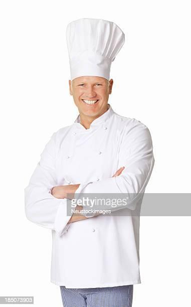 Senior Chef-isoliert
