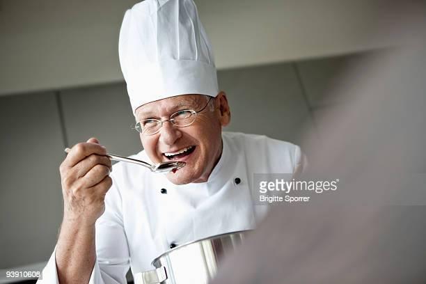 Senior Chef Portait