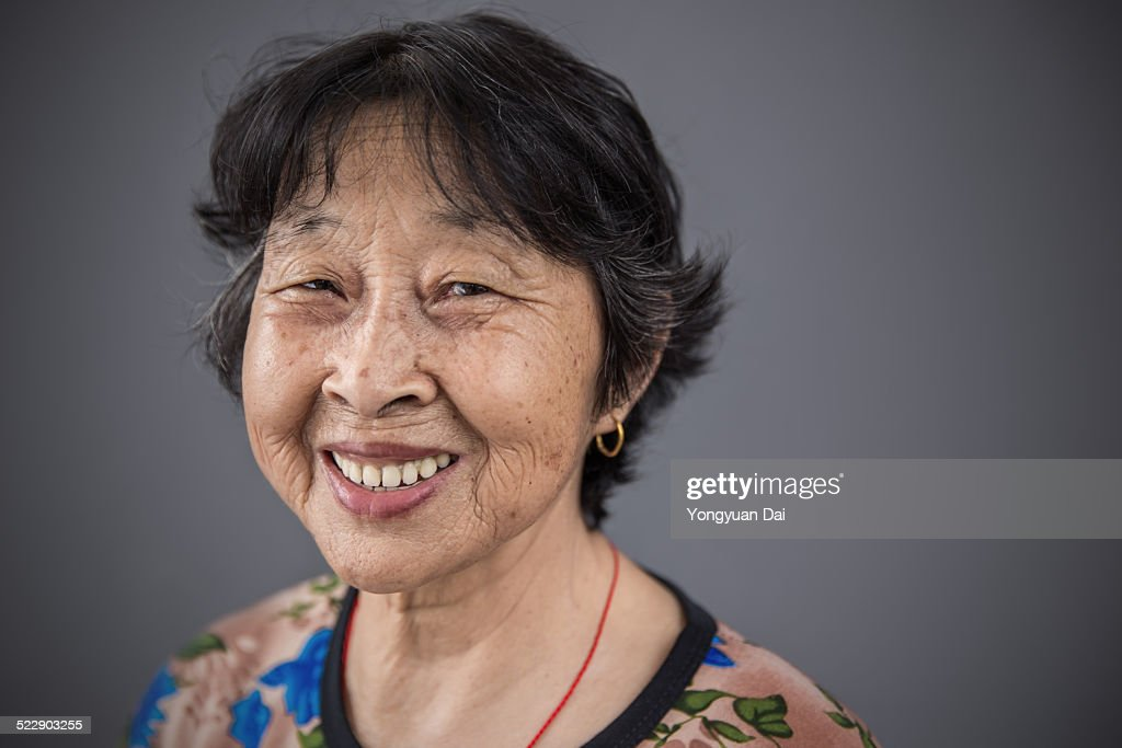 Senior Chinese Woman