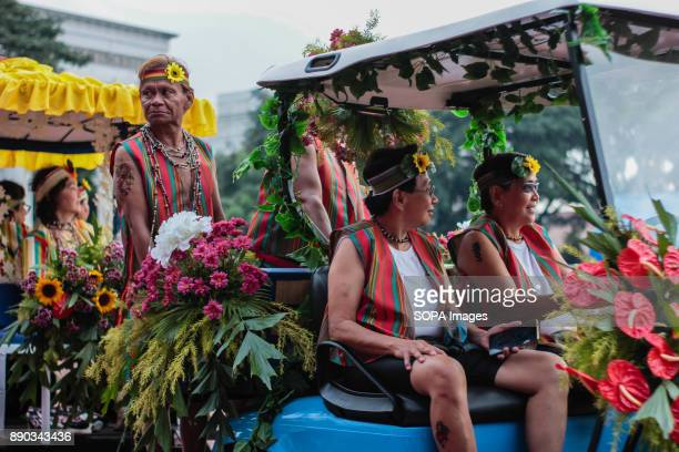 PHILIPPINES MARIKINA NCR PHILIPPINES Senior Citizens in Golf Cart showcases their power in the well known Panagbenga Festival The Biggest Annual...