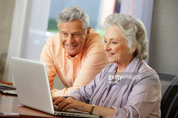 Senior Citizens on the Computer
