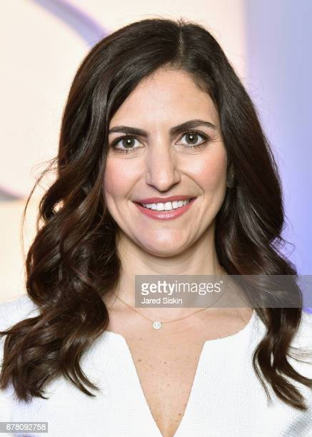 Senior Content Director Rebecca Gruber attend POPSUGAR 2017 Digital NewFront at Industria Studios on May 3 2017 in New York City