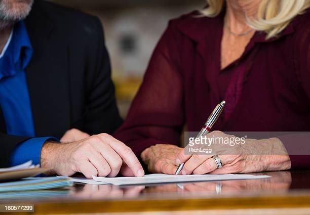 Senior contrat