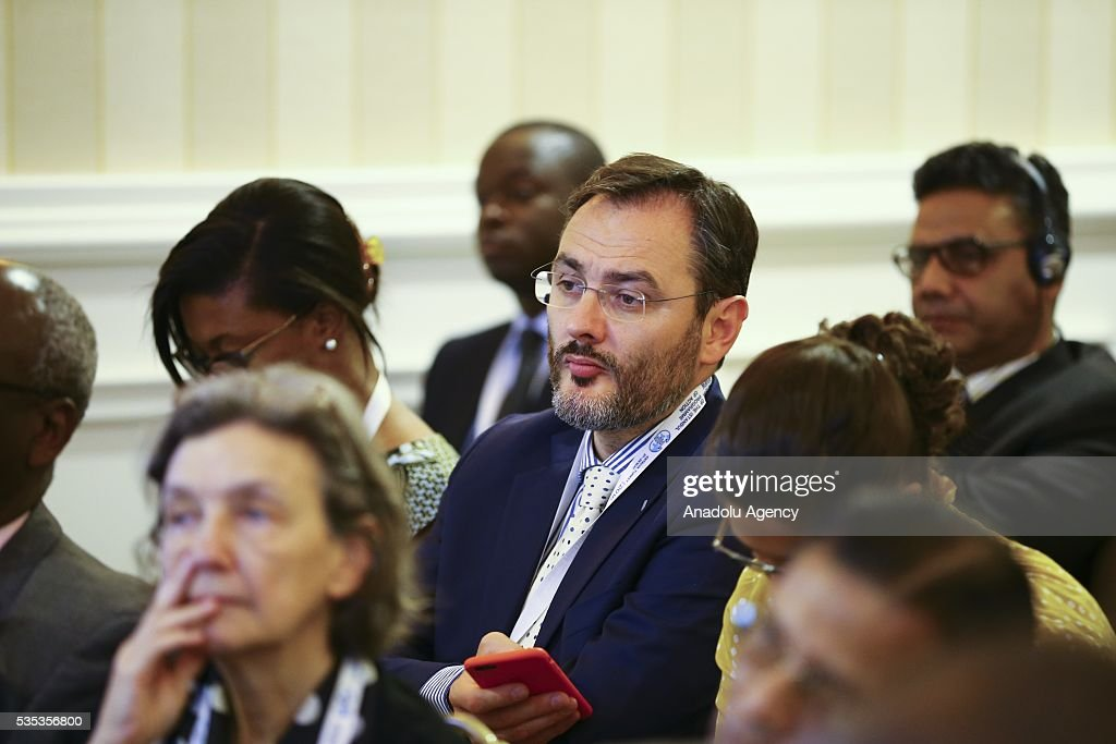 Senior Counsellor to the Director at the OECD Development Centre, Federico Bonaglia attends a session during the Midterm Review of the Istanbul Programme of Action for the Least Developed Countries in Antalya, Turkey on May 29, 2016.
