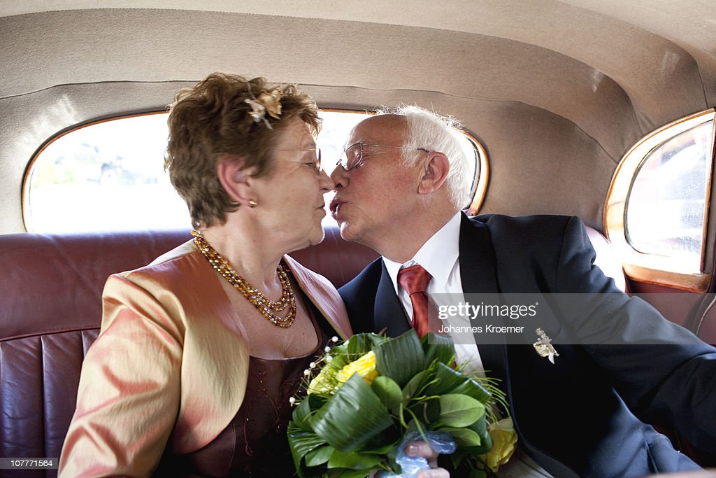Senior Couple at their Golden Anniversary