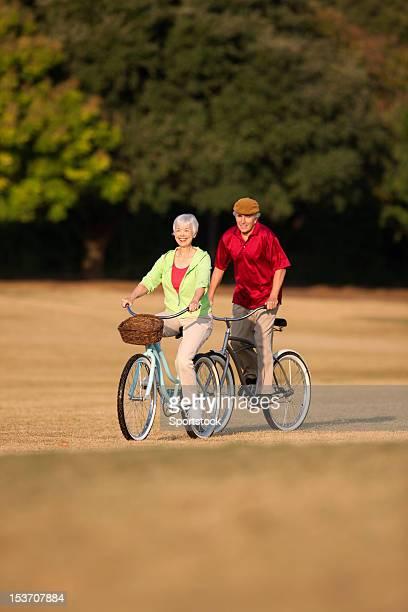 Pareja Senior ciclismo
