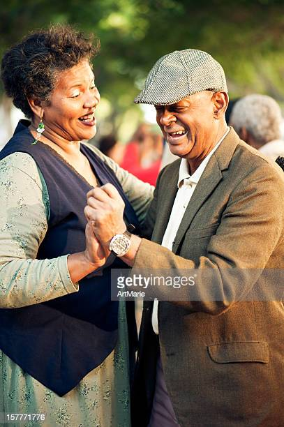 Senior couple dancing, La Havana, Cuba
