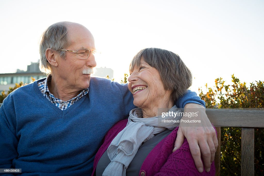 Senior Couple During Evening Sun