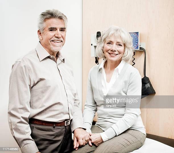 Senior Couple in an Examination Room