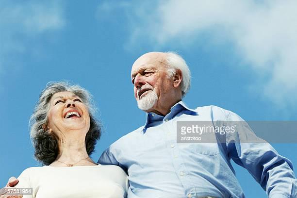 Senior Couple in Arm