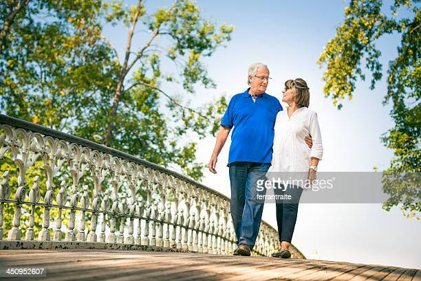 Senior Couple in Central Park