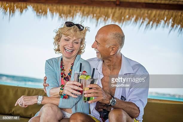 Senior Couple on date
