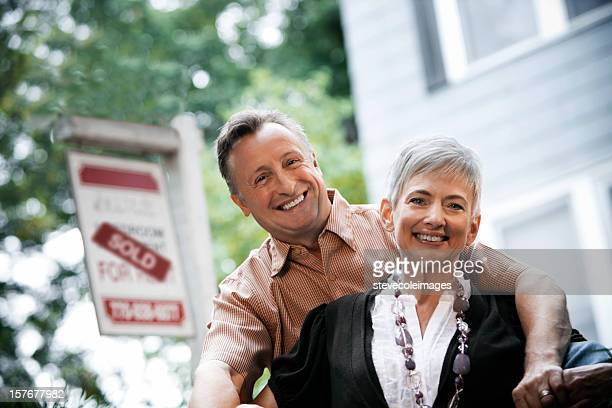 Senior Couple Selling a Home