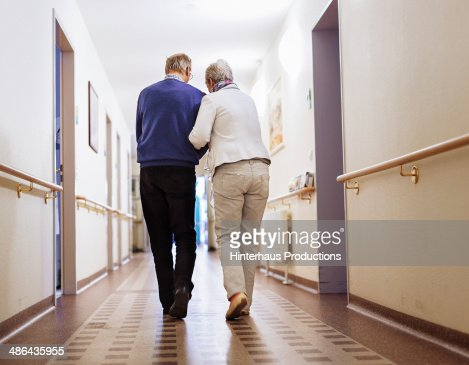 Senior Couple Senior Home