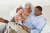 Senior Couple With Paperwork