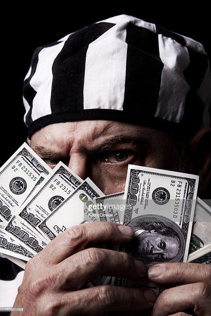 Senior Criminal : Stock Photo