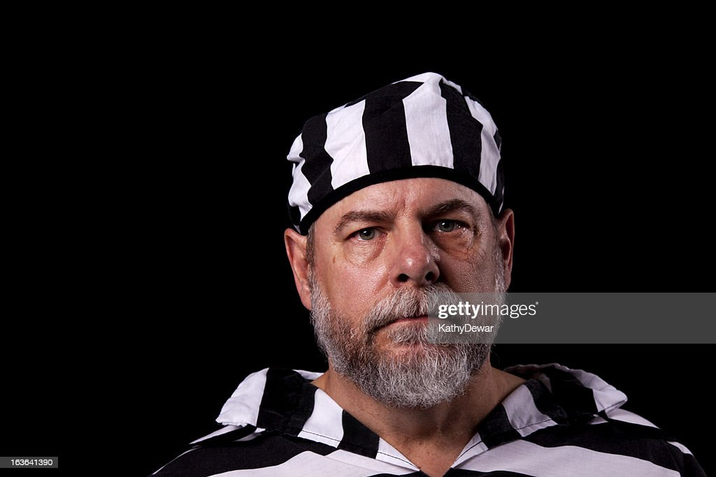 Senior Criminal : Stock Photo