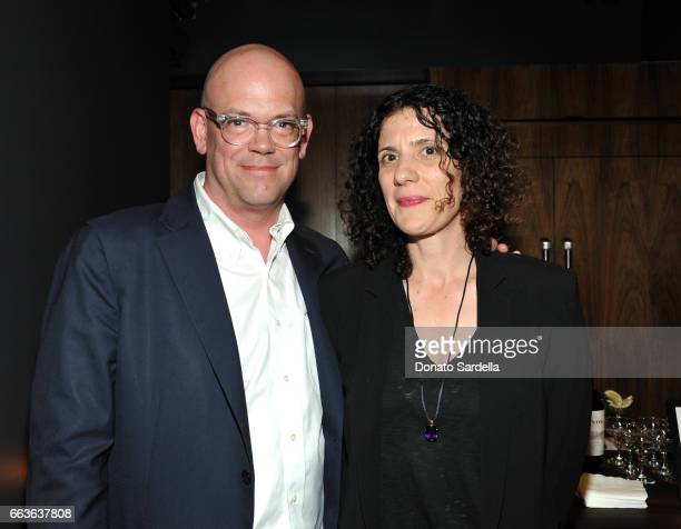 MOCA Senior Curator Bennett Simpson and Caroline Thomas attend MOCA's Leadership Circle and Members' Opening of 'Carl Andre Sculpture as Place...