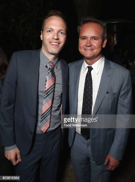 Senior Development Executive Drama Amazon Studios Marc Resteghini and Head of Amazon Studios Roy Price at the Amazon Prime Video premiere of the...