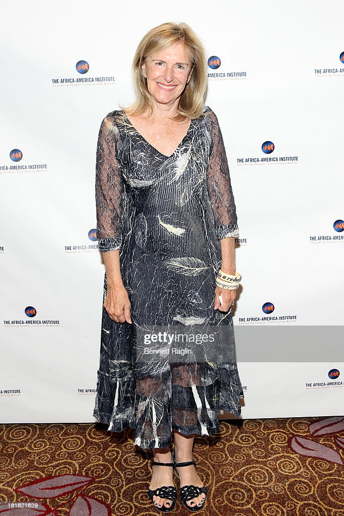 Senior Director at Synergos, Anna Ginn attends Africa-America Institute 60th Anniversary Awards Gala at New York Hilton on September 25, 2013 in New York City.
