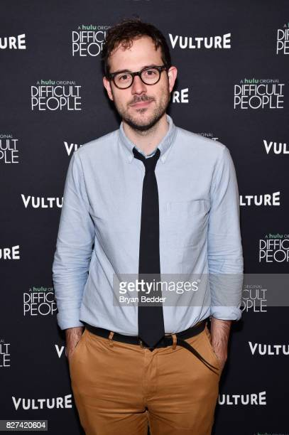 Senior editor at Vulture Jesse David Fox attends Vulture Hulu's screening of 'Difficult People' on August 7 2017 in New York City