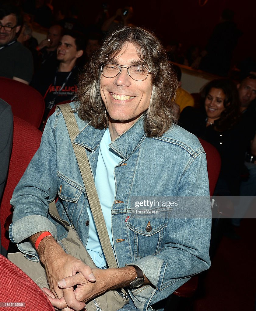 Senior Editor of Rolling Stone Magazine David Fricke attends Metallica's private, exclusive concert for SiriusXM listeners at The Apollo Theater on September 21, 2013 in New York City.