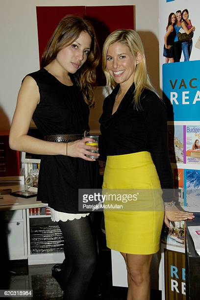 Senior Executives of Workhouse Lauren Gould and Gillian Cummins attend WORKHOUSE WONDERLAND hosted by CEO Adam Nelson at Workhouse Publicity 133 West...