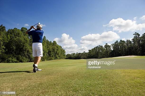 上級ゴルファーのフェアウェイ