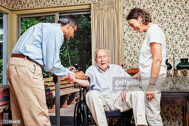 Senior Health Care Hausbesuch