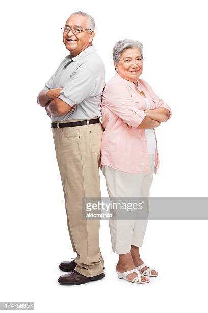 Senior husband and wife