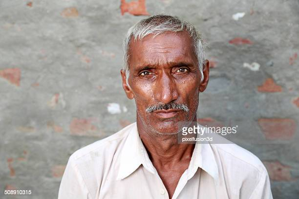 Senior Indian men portrait