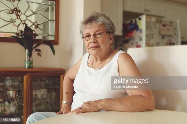 Senior Lady At Home