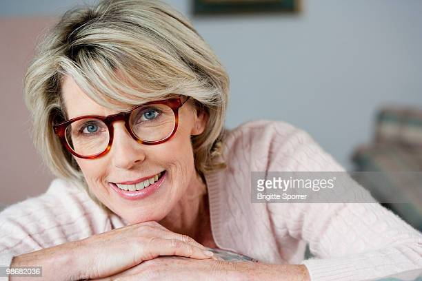 Senior Lady With Glasses