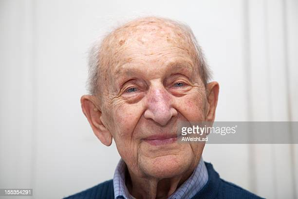 Senior male 90 years old portrait