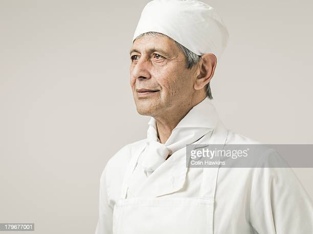 Senior male chef