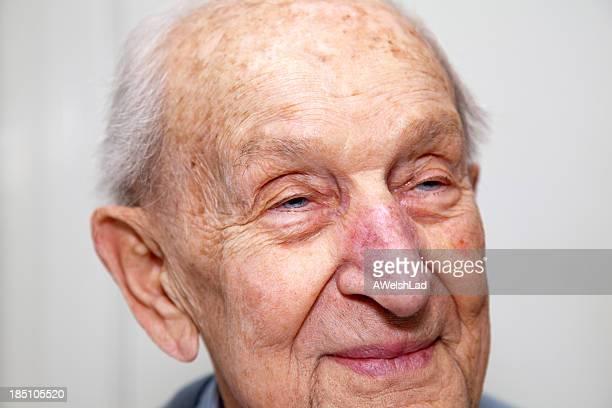 Senior man close up