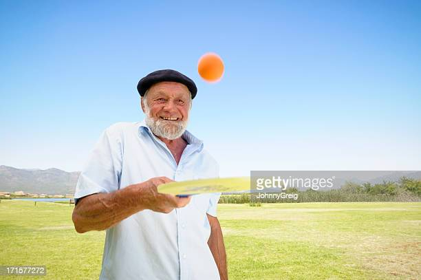 Senior Man Enjoying Sport