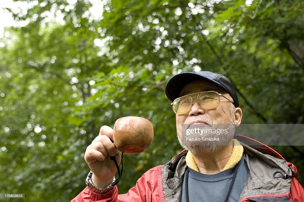 A senior man : Stock Photo