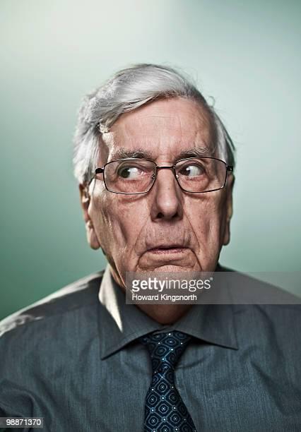 Senior man, portrait