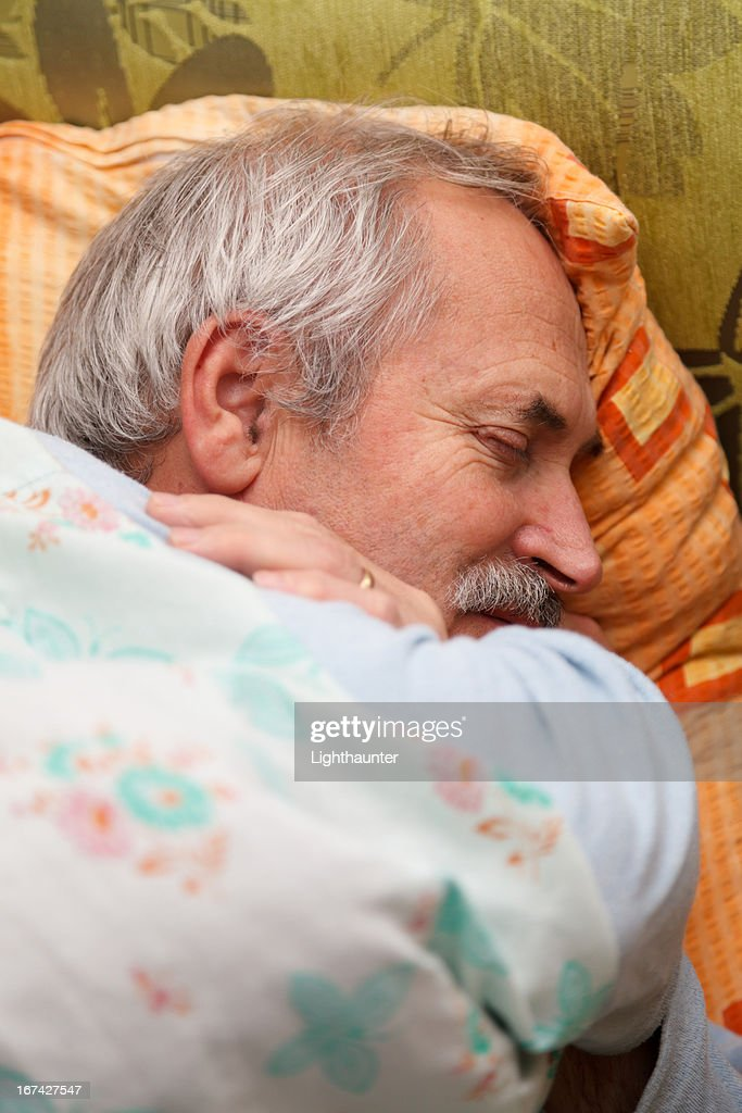 Senior Man Relaxing : Stock Photo