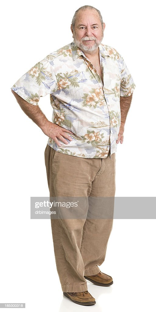 Senior Man Standing With Hands On Hips