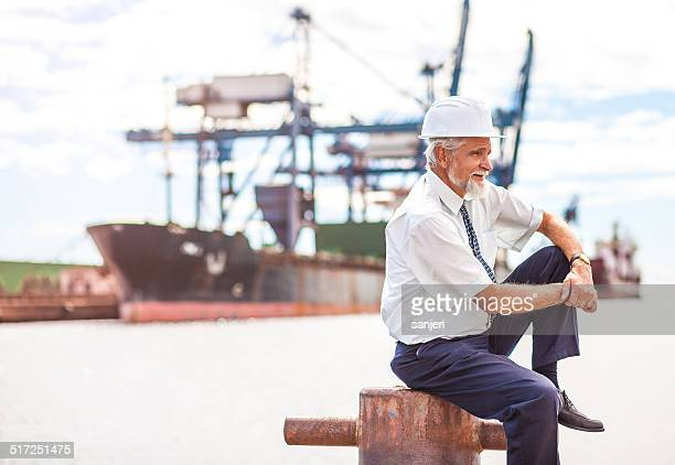 Senior Manager at the commercial dock