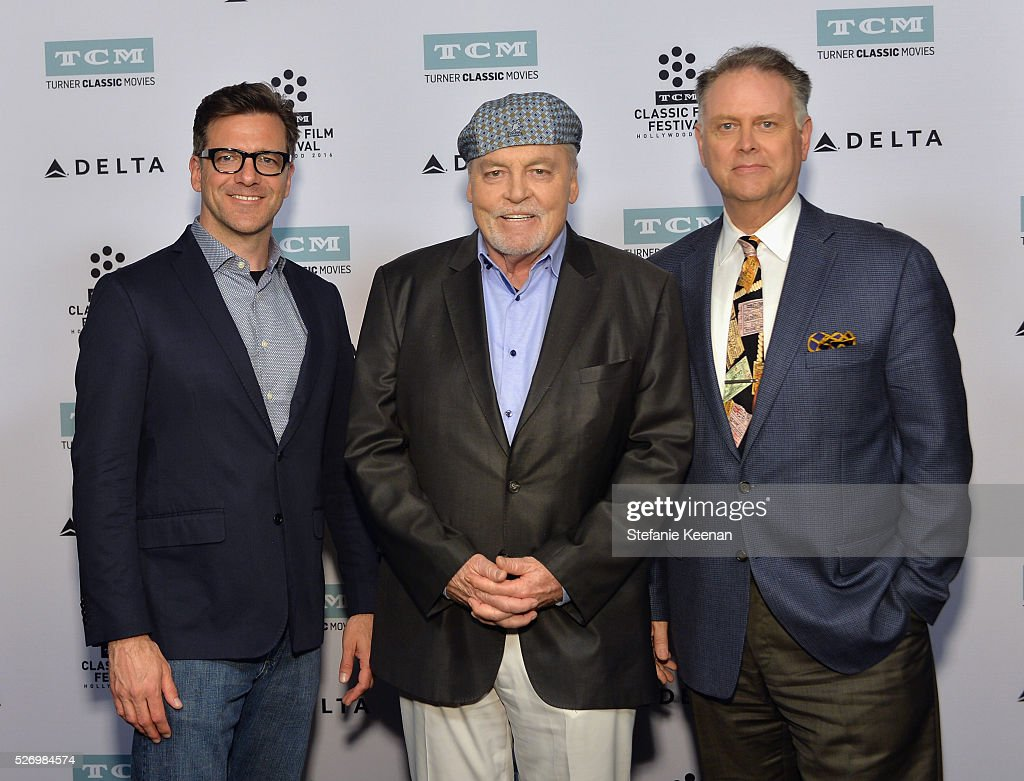 Senior Media Manager for TCM Shannon Clute, actor Stacy Keach and writer Eddie Muller attend 'Fat City' screening during day 4 of the TCM Classic Film Festival 2016 on May 1, 2016 in Los Angeles, California. 25826_005
